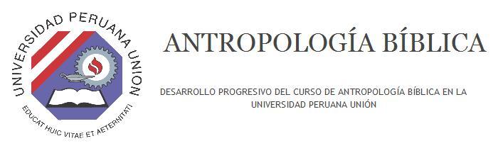 Antropología Bíblica