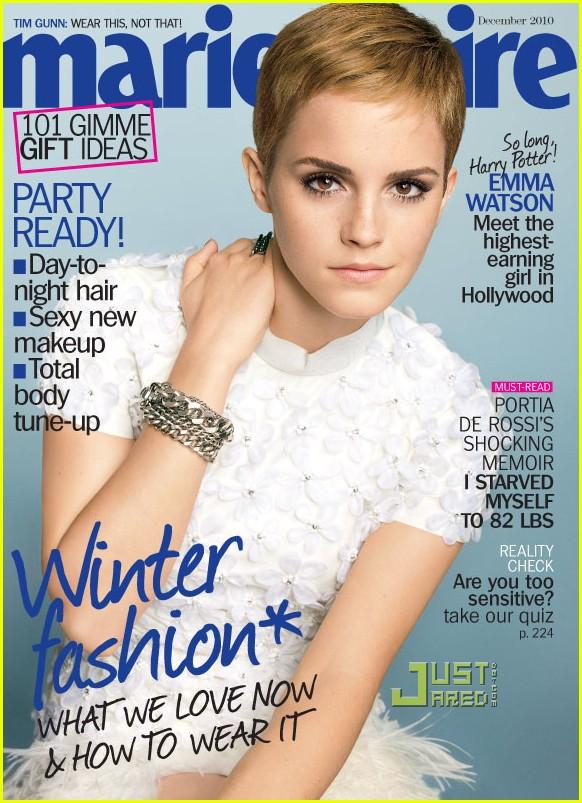 Emma Watson Marie Claire photos
