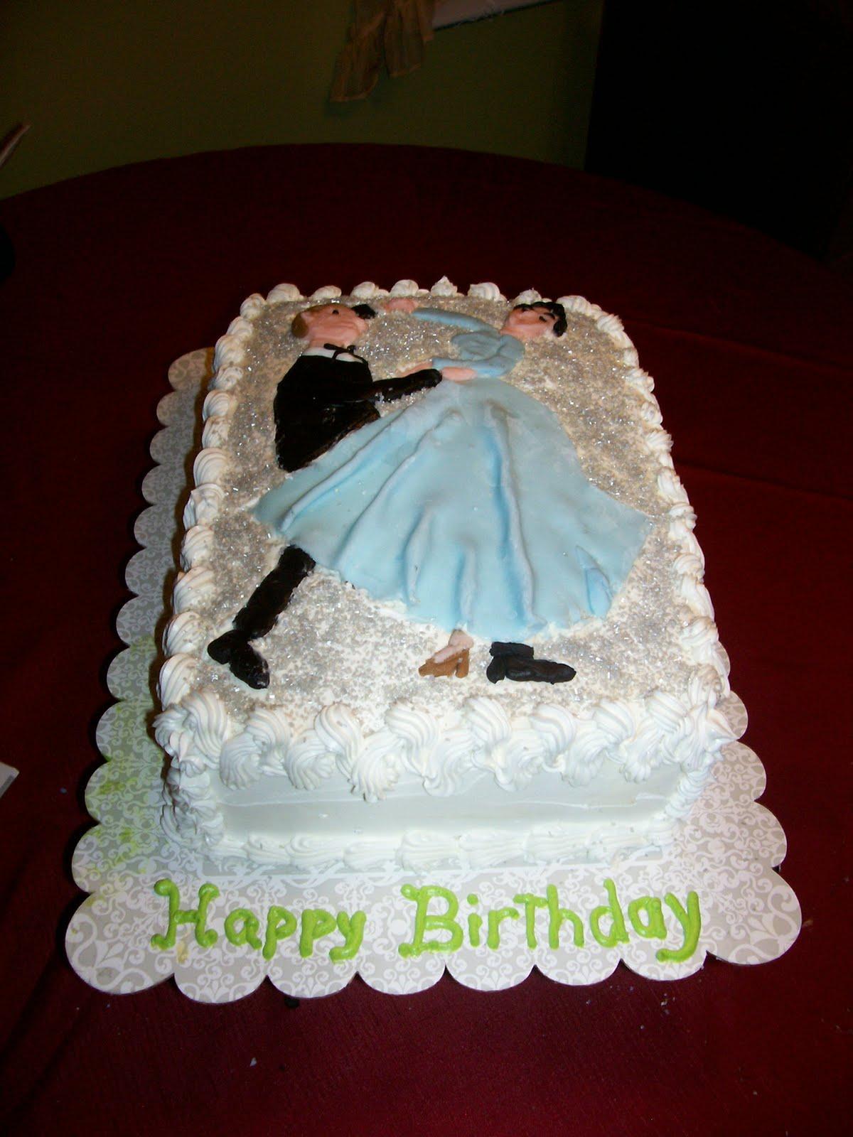 Michaelinas Cakes Jojom333yahoo Couple Dancing Birthday Cake