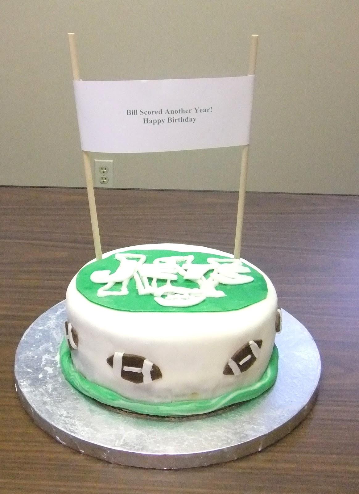 Michaelinas Cakes Jojom333yahoo Jets Birthday Cake Bosses Day