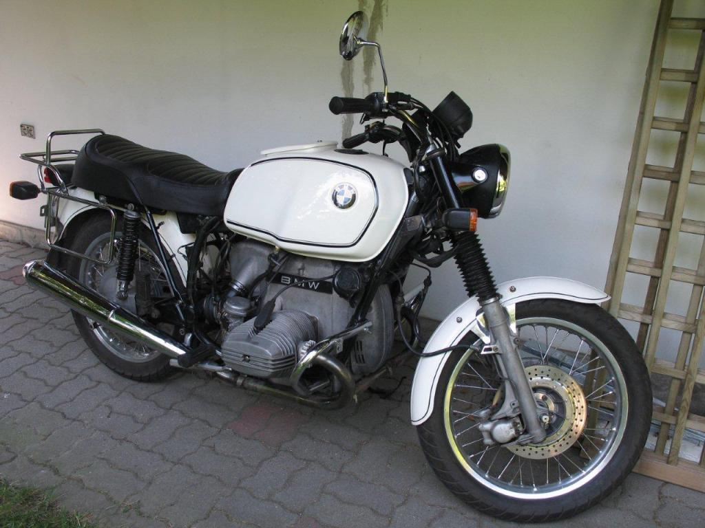 Cafe Beemers  BMW R80 7 1979