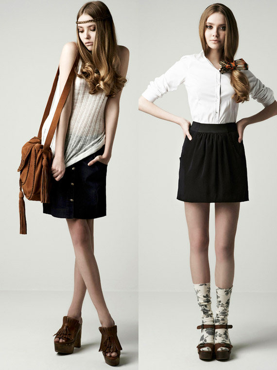 the Electric: ZARA March '10 lookbook