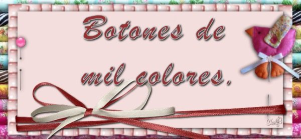BOTONES DE MIL COLORES