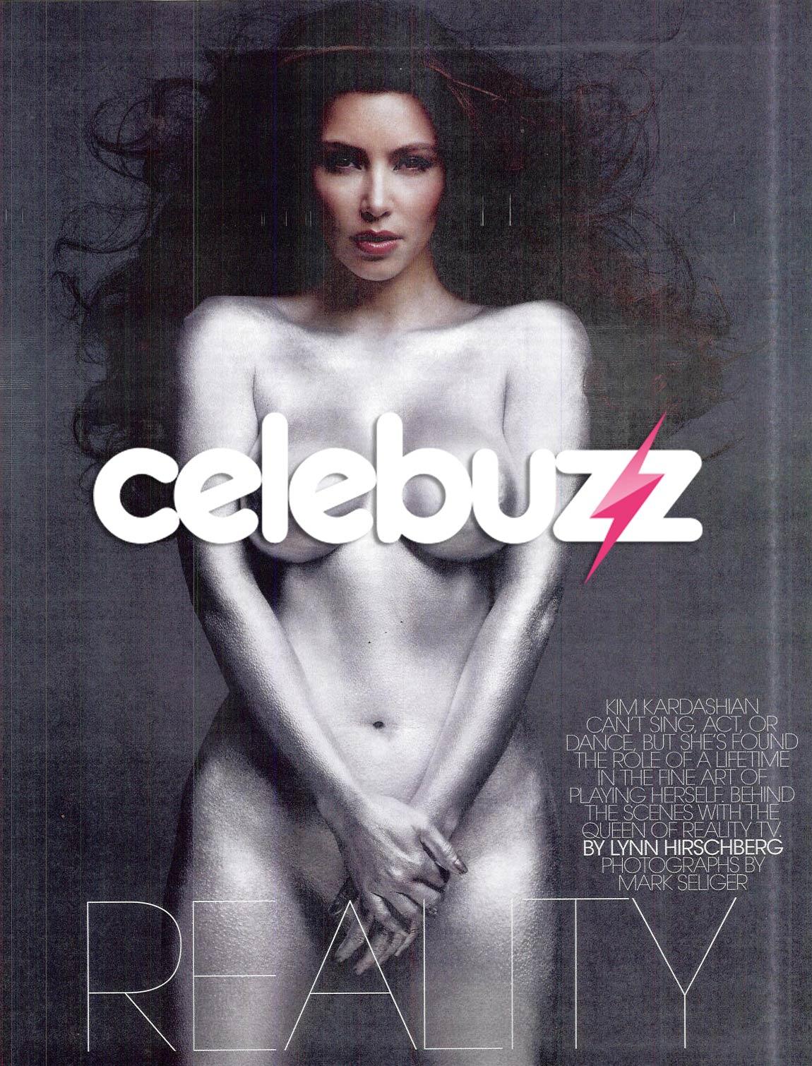 kim kardashian w mag nude