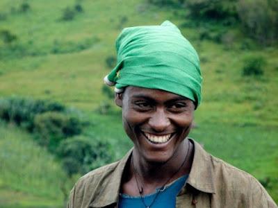 Ethiopie - Jeune paysan rencontré entre Addis et Jima