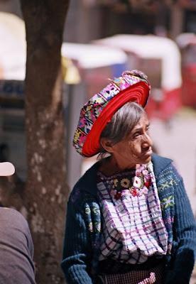 Guatemala - Femme maya du village Santiago Atitlan – Lac Atitlan