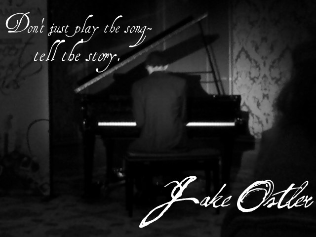 Jake Ostler, the piano man