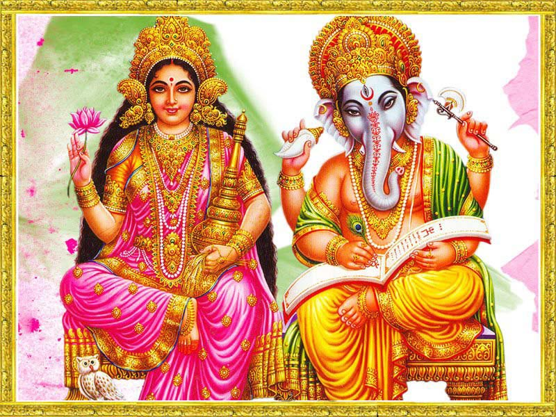 wallpaper of ganesh laxmi. Laxmi Ganesh Wallpaper