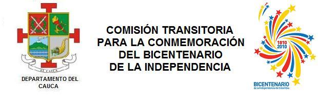 COMISION DEPARTAMENTAL PARA EL BICENTENARIO DE LA INDEPENDENCIA