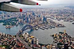 Sydney z samolotu - foto T.Koprowski