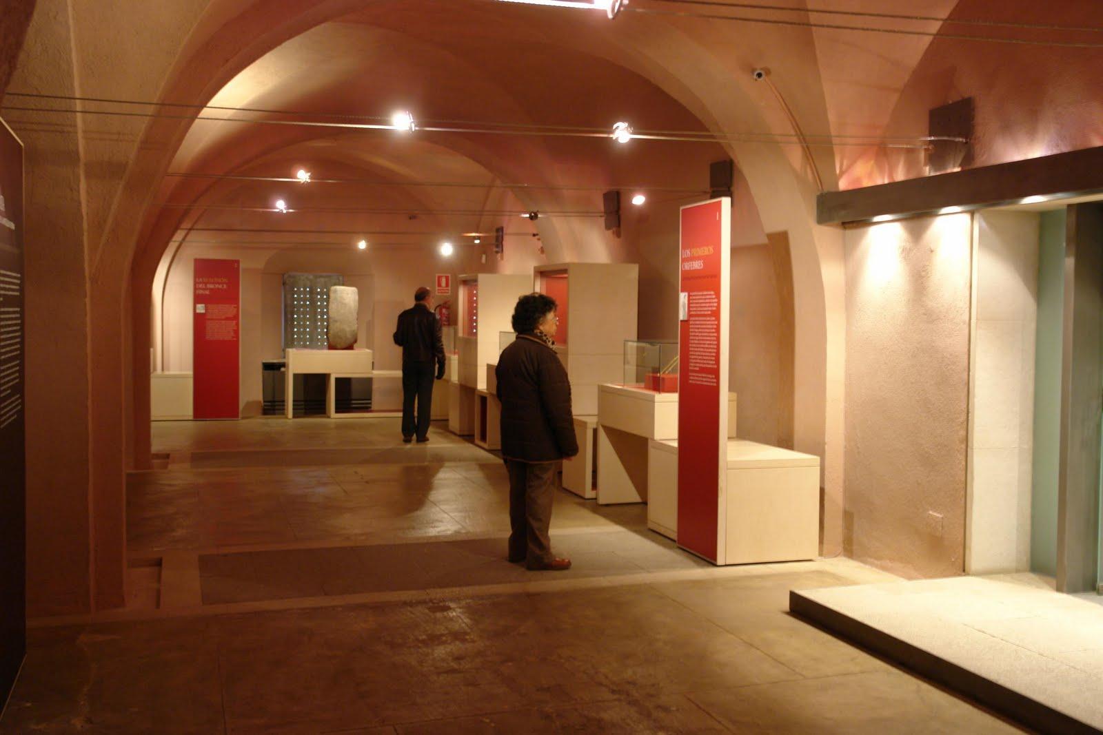 Museo de Cáceres en el Palacio de las Veletas, edificio del S. XV