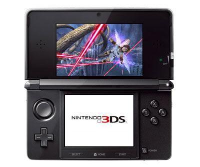 Nintendo ds em 3d