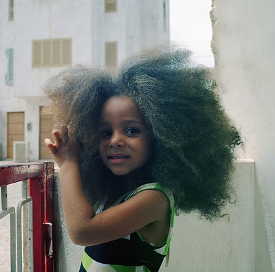 Little Black Girls with Natural Hair