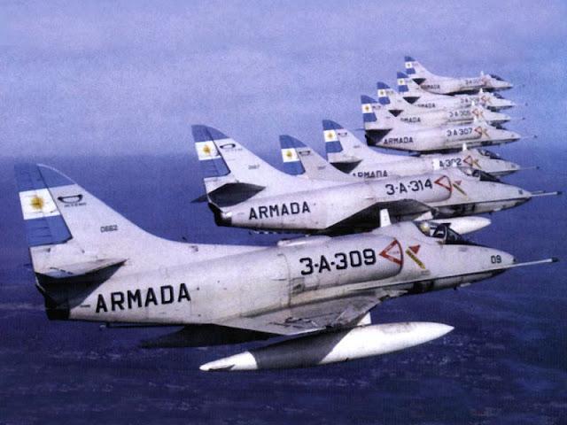 Resultado de imagen para FF.AA. Douglas A-4AR Fightinghawk
