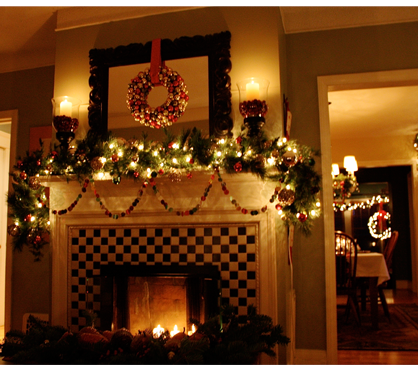 Home Decorating on Room Idea Homehues Christmas Unique At Home With Kim Vallee Country