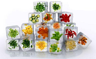 Verduras que se pueden freezar