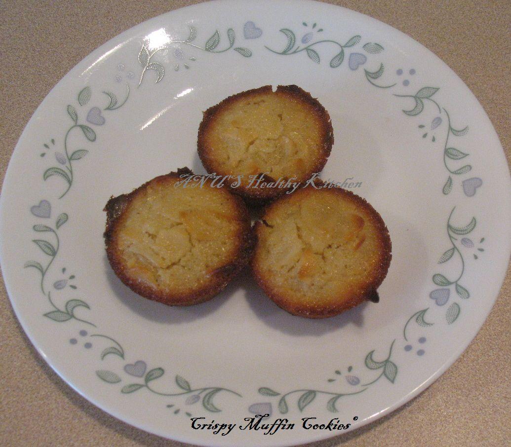 Crunchy Orange Muffin Cookies