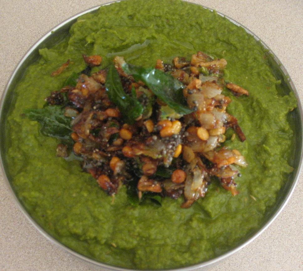 Celery Mint Pachadi