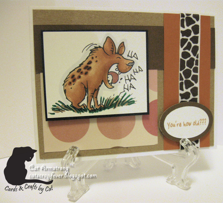 Cat scrap fever ibfd laughing hyena for Michaels crafts wausau wi