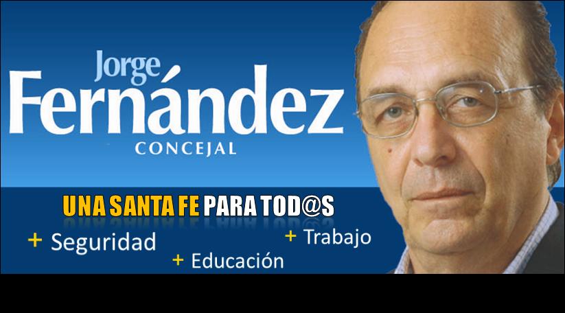 Jorge FERNANDEZ - CONCEJAL
