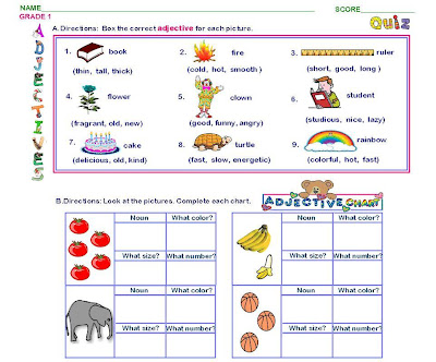 Printables Adjective For Kids adjective sentences for kids scalien adjectives exercises children scalien