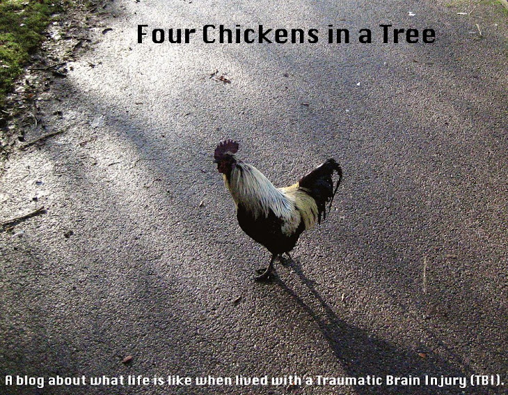 Four Chickens in a Tree