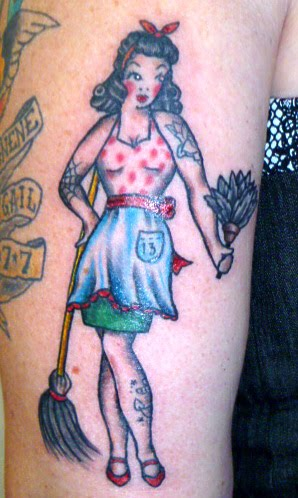 Pin Up Girl Tattoos On Women. I always wanted a pin-up girl
