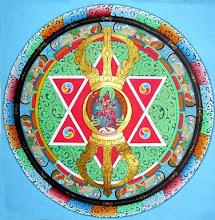 Thangka Artist:  Sashi Kumar