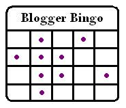 Blogger Bingo