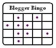 Blogger Bingo