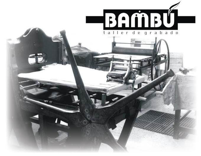 TALLER DE GRABADO BAMBU