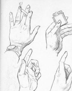 karakalem el çizimleri