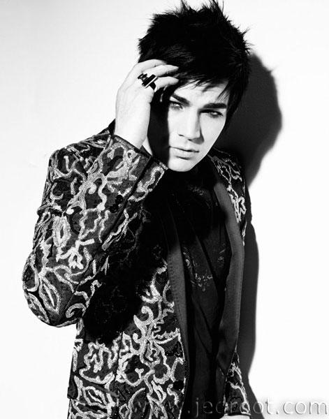 adam lambert black and white photoshoot. Filed Under (photoshoot