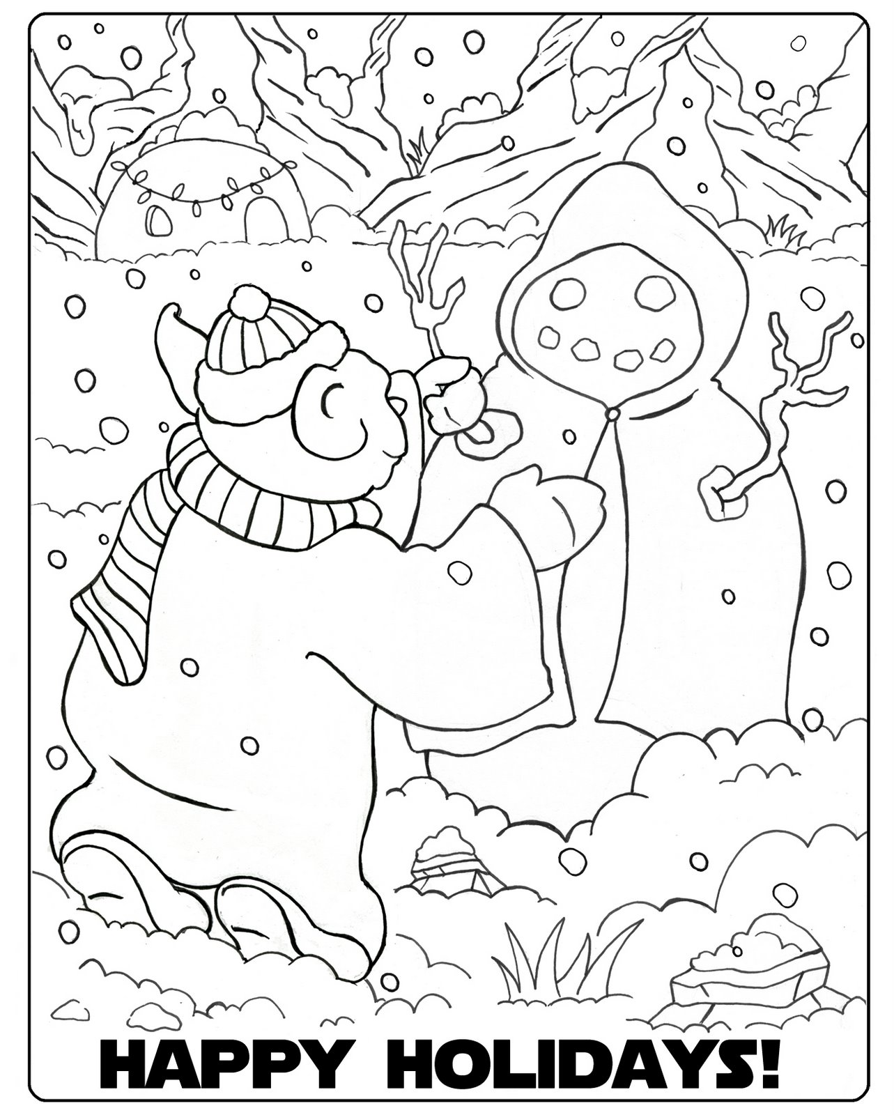 28 star wars christmas coloring pages coloring pages death
