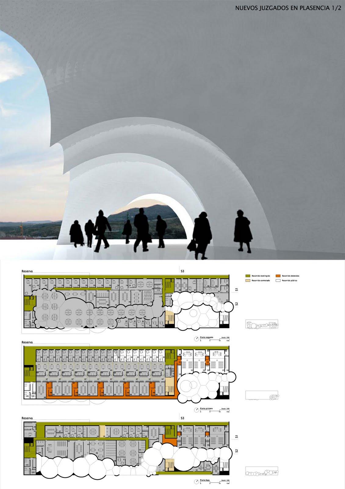 G lvez algeciras nuevo edificio de juzgados en for Juzgados de plasencia