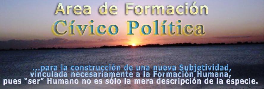 Area de Formación Cívico Política
