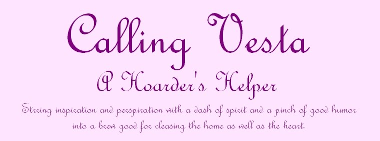 Calling Vesta  {A Hoarder's Helper}