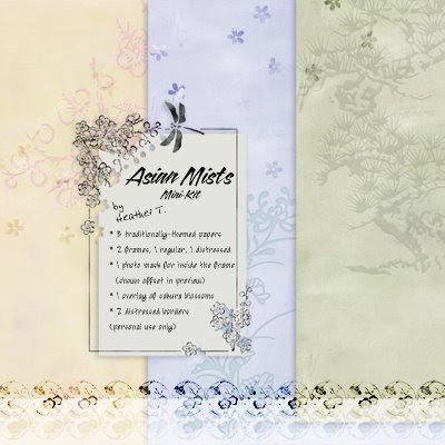 Heather Taylor, Asian Mists (Freebie)