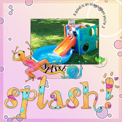 Heather Taylor, Splish-Splash