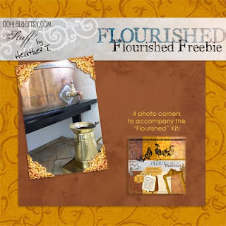 Heather Taylor, Flourished Freebie