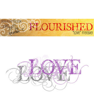 Heather Taylor, Flourished Alpha Freebie