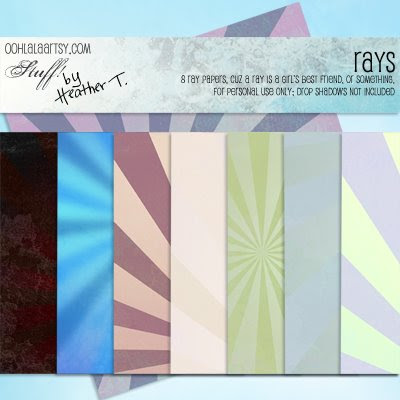 Heather Taylor, Rays Freebie Paper Pack