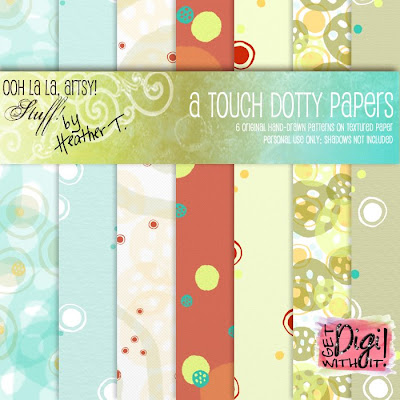 Heather T., A Touch Dotty Paper Pack