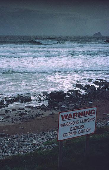 Cette mer des Skelligs reste toujours dangereuse avec ses courrants tres forts