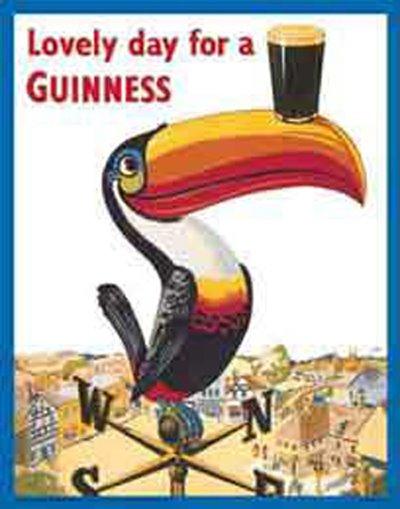 De Guinness get et och nach emmer