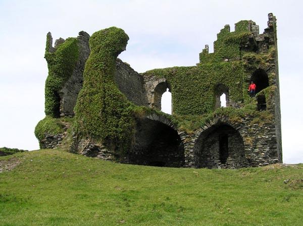 Ballycarbery castle, vill mei eng rezent Geschicht (18 Joerhonnert)