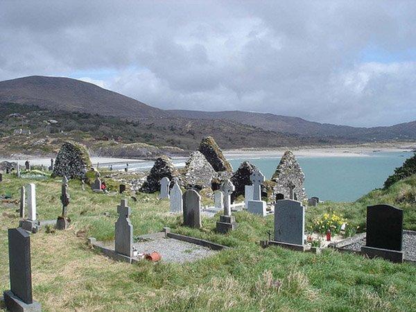 De Kiefescht vun Derrynane (bei Caherdaniel) (de Kerry ass einfach eng aaner Welt)