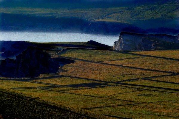 Eng grouss'arteg Foto vun den Fielsen bei Portmagee