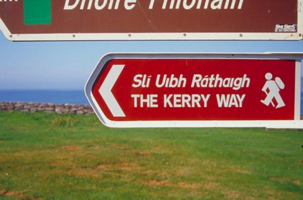 Den Kerry Way, een vun den groussen Europa Wandertouren