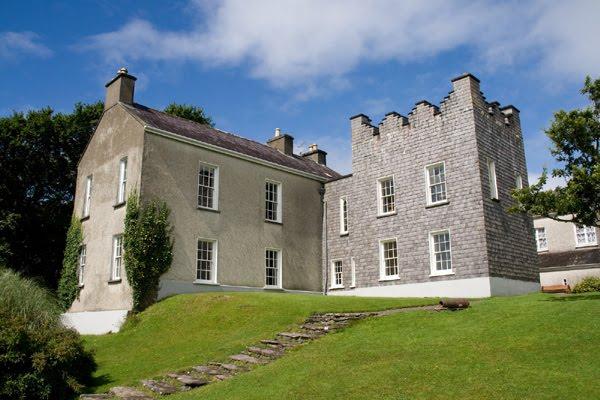 Derrynane House an den Park, eppes waat een muss gesin hun (interessant Geschicht)